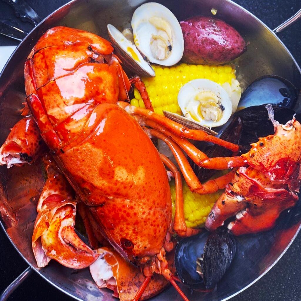 Fresh Lobster Dinner in Boca Raton